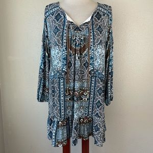 Style & Co Tunic Style Top Size M EUC
